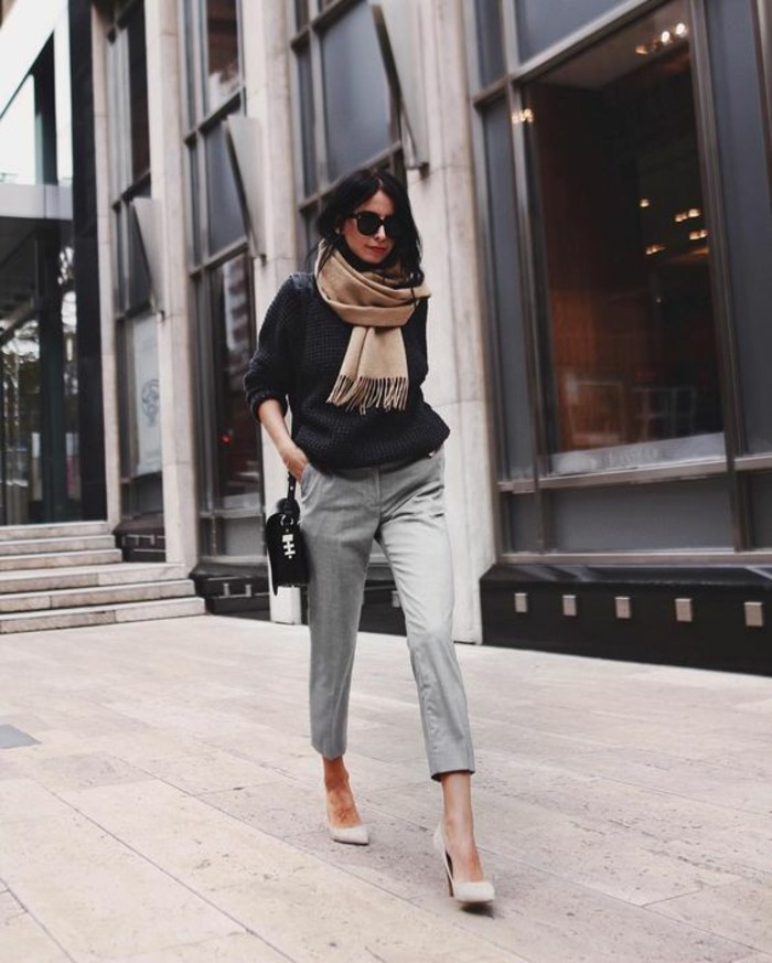 habillée-femme-comment-s-habiller-en-ce-moment-echarpe