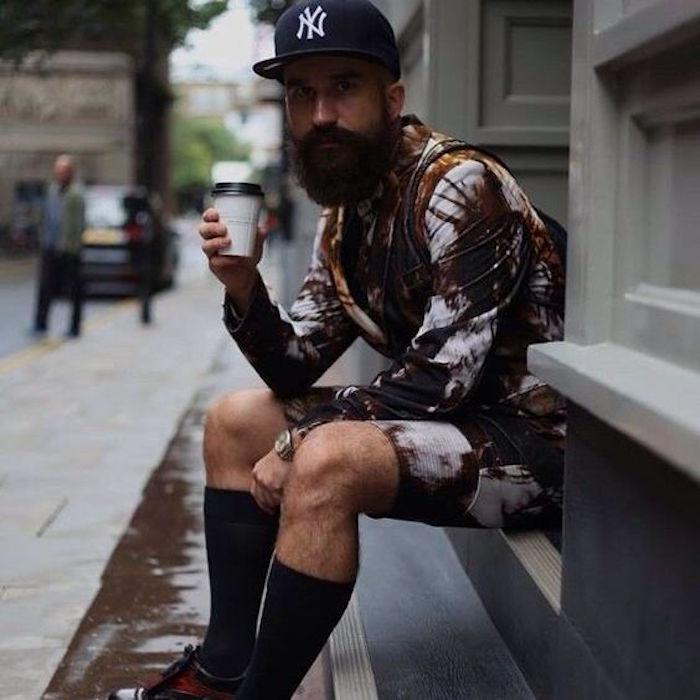 comment porter chaussette longue homme façon hipster
