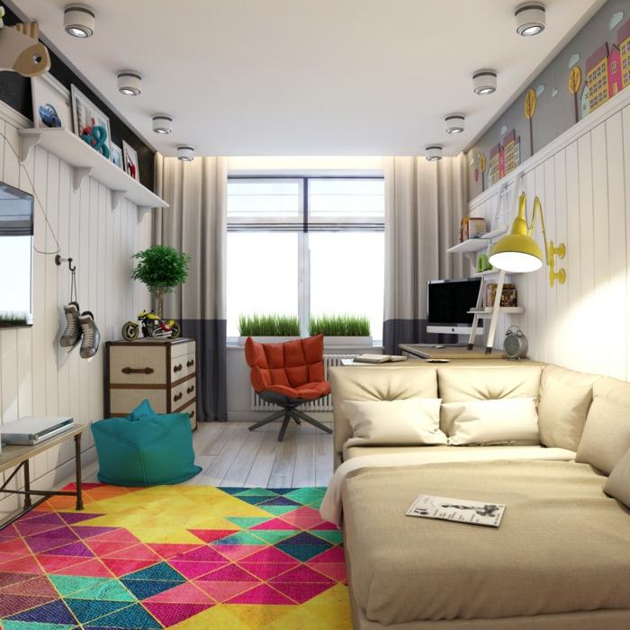 idée-créative-pour-une-chambre-d'ado-moderne-et-fonctionnelle