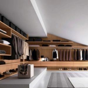 Dressing sous pente - pour bien organiser ses affaires tout en optimisant l'espace