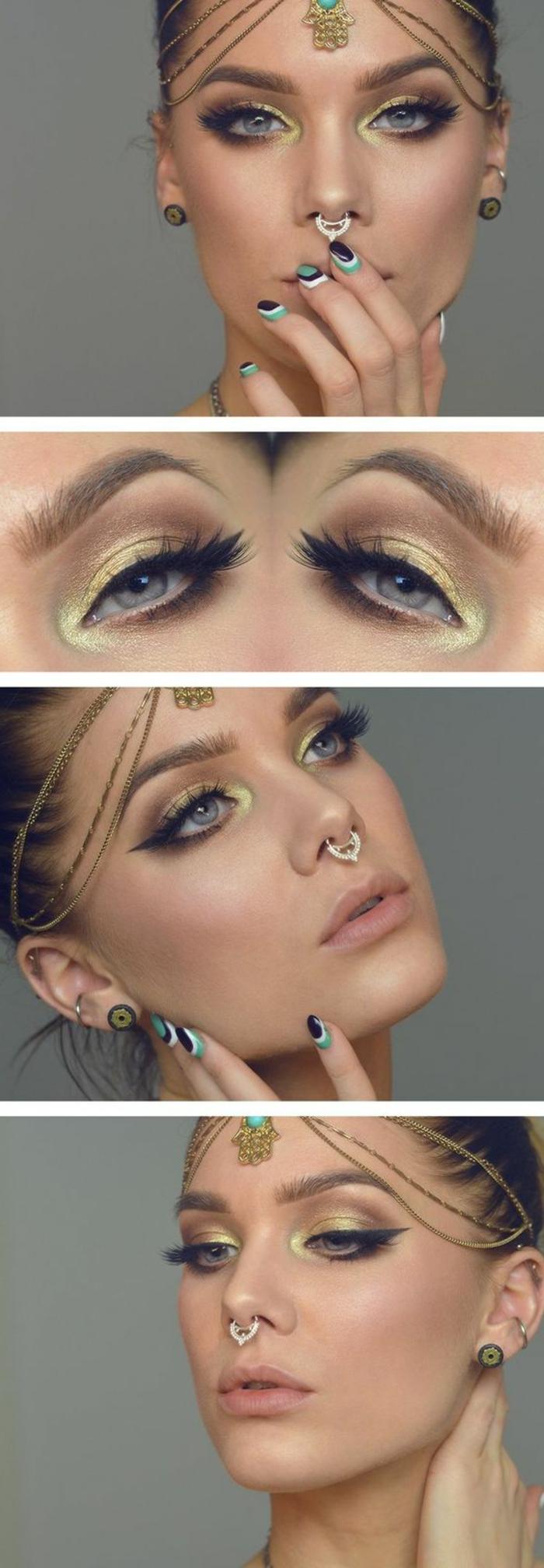 idée-maquillage-de-style-bollywood-bijou-pour-visage