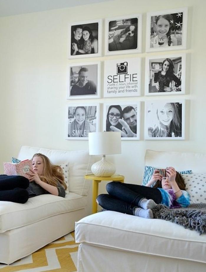 idée-pour-une-chambre-d'ado-moderne-décoration-murale-originale