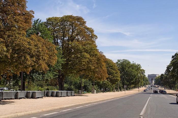 image avenue foch bois de boulogne arc de triomphe
