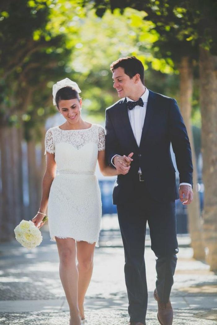 inspiration-robe-sirene-mariage-robe-de-marié-bustier-courte-robe