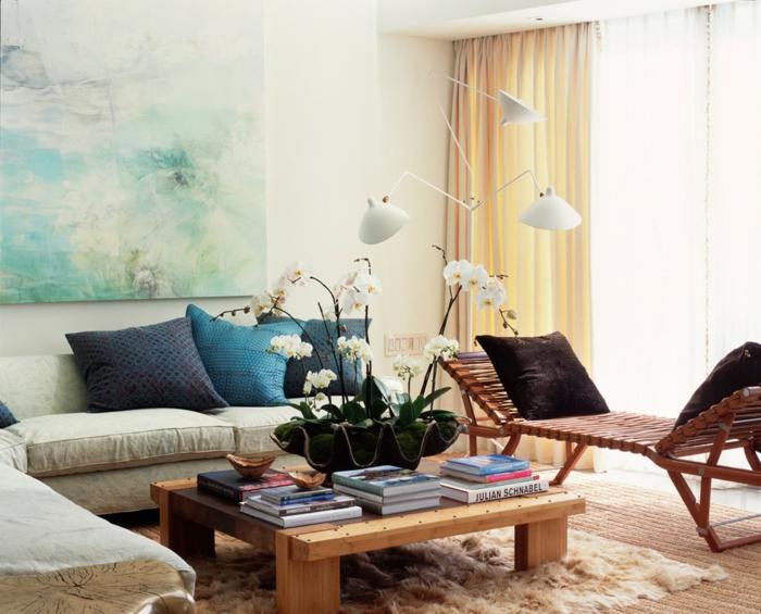 jolie-chambre-bleu-idee-deco-chambre-garcon-table-basse