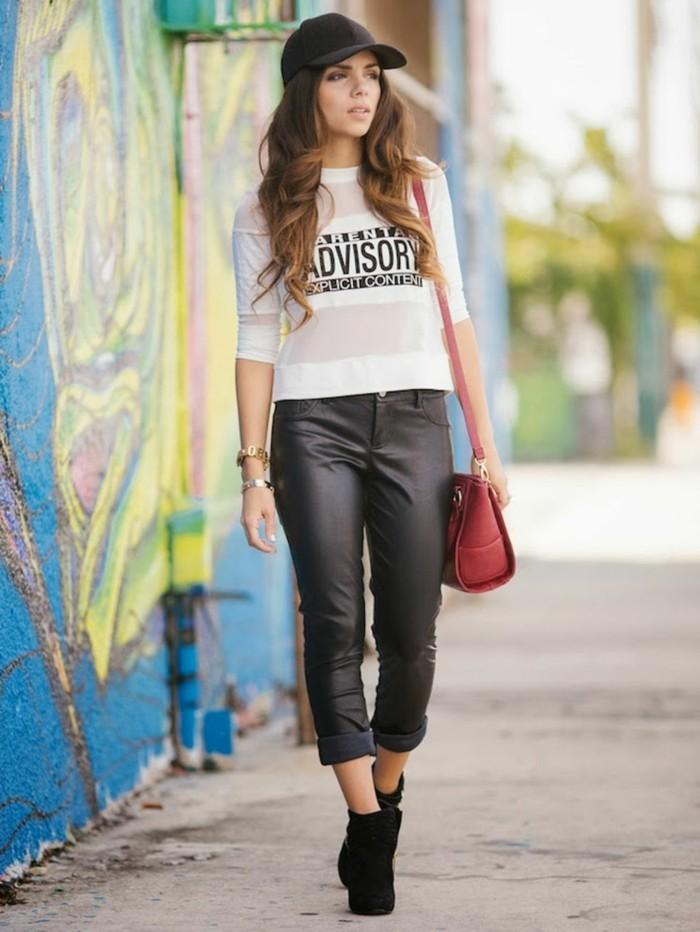 jolie-tenue-idée-pour-s-habiller-femme-ootd-journée-cuir-pantalon