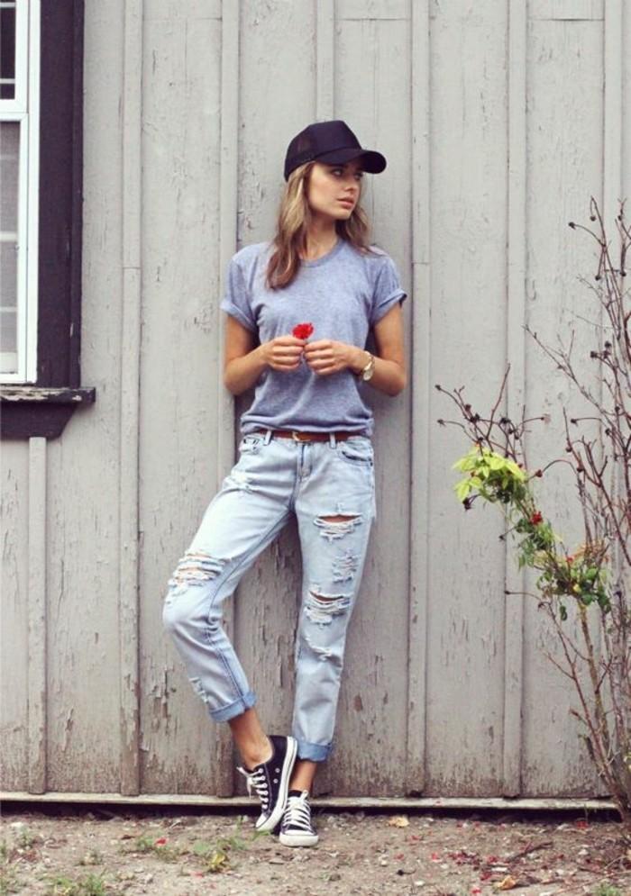 jolie-tenue-idée-pour-s-habiller-femme-ootd-journée-jean-déchirée