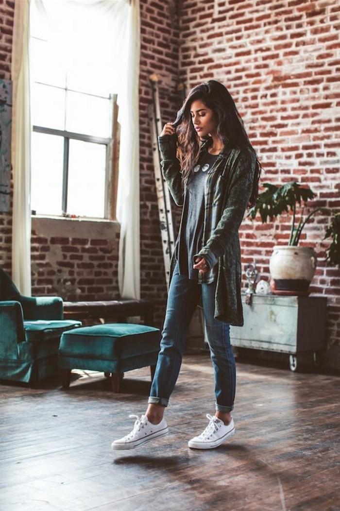 jolie-tenue-idée-pour-s-habiller-jolie-idee-decontractee-femme-ootd-journée
