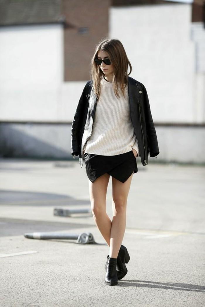 quelle jupe pour ma morpho, jupe portefeuille pour rendre une silhouette femme au rectangle plus féminine