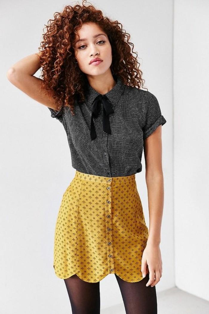 blouse moutarde femme rgulier blouse croise haut bas moutarde blouses l couleur pure femme. Black Bedroom Furniture Sets. Home Design Ideas