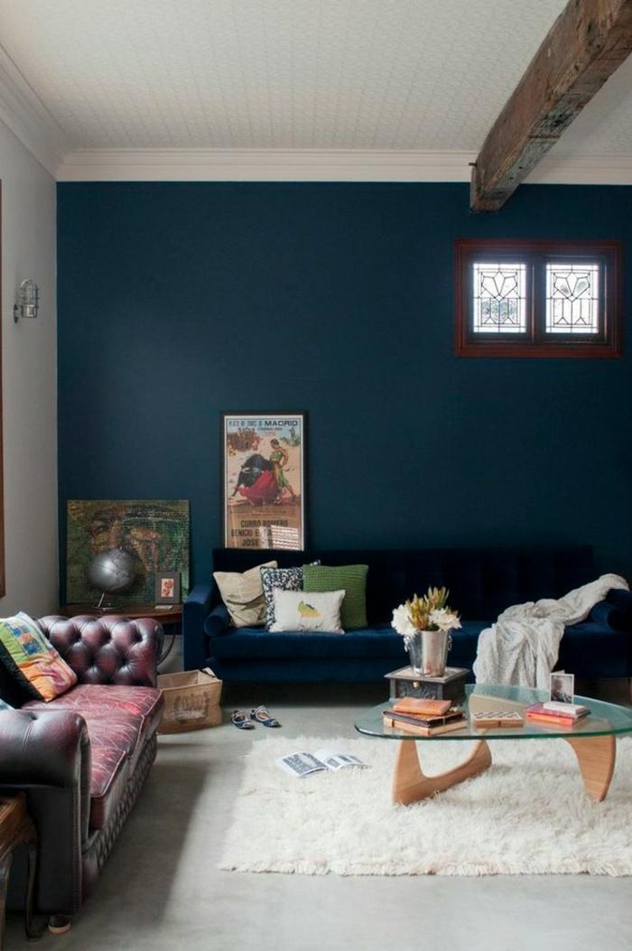 1001 id es pour la d coration d 39 une chambre bleu paon. Black Bedroom Furniture Sets. Home Design Ideas