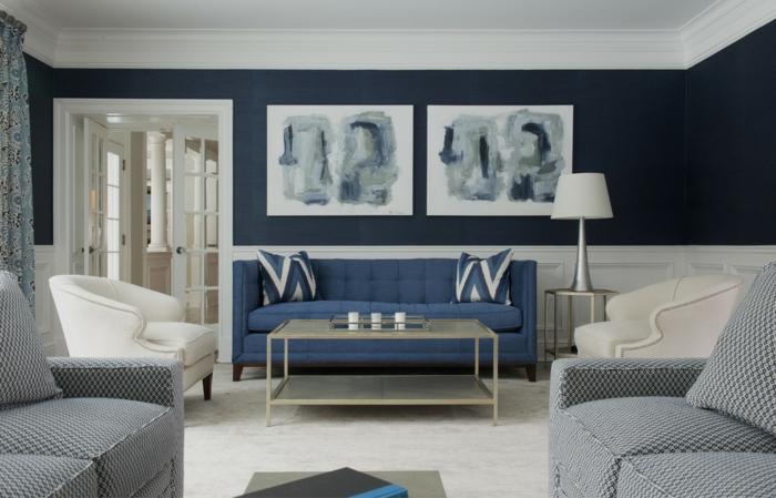 la-déco-chambre-bleu-canard-deco-de-chambre-gris-canapé
