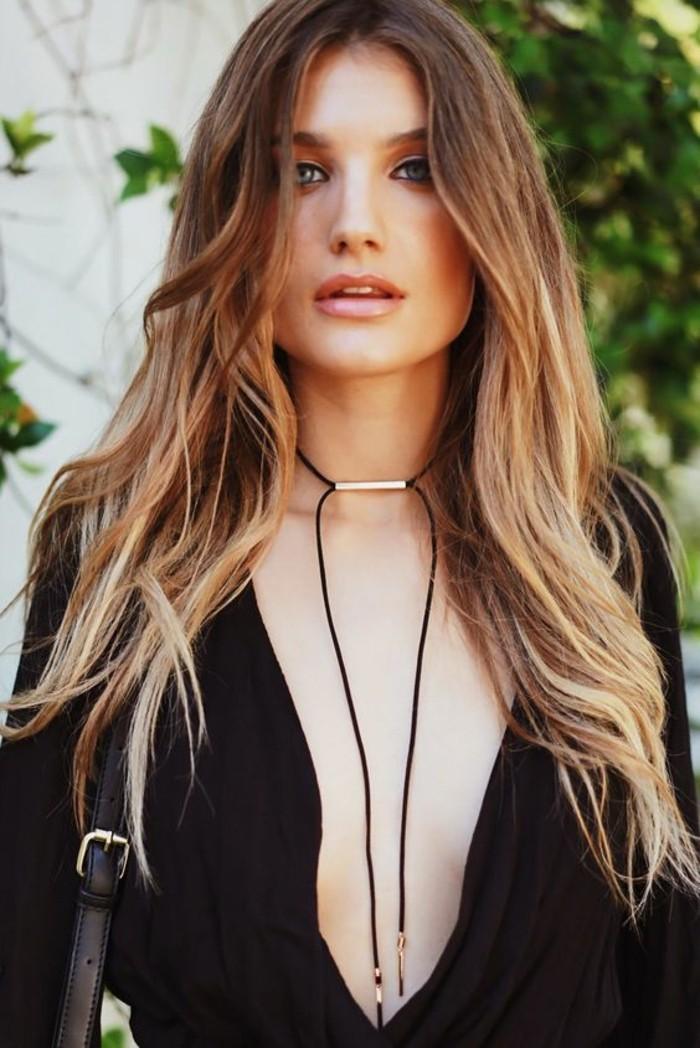 Superbe idee tenue collier ras de cou perle colliers femme beauté