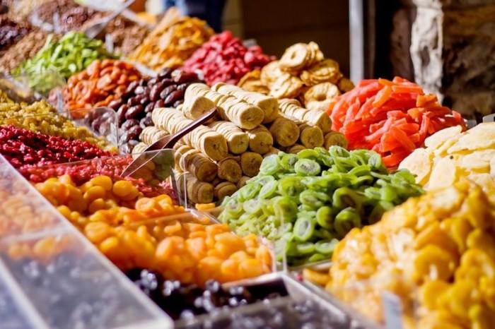 fruits secs, remède efficace contre le manque de fer dans l'organismes, idée aliments riches en fer