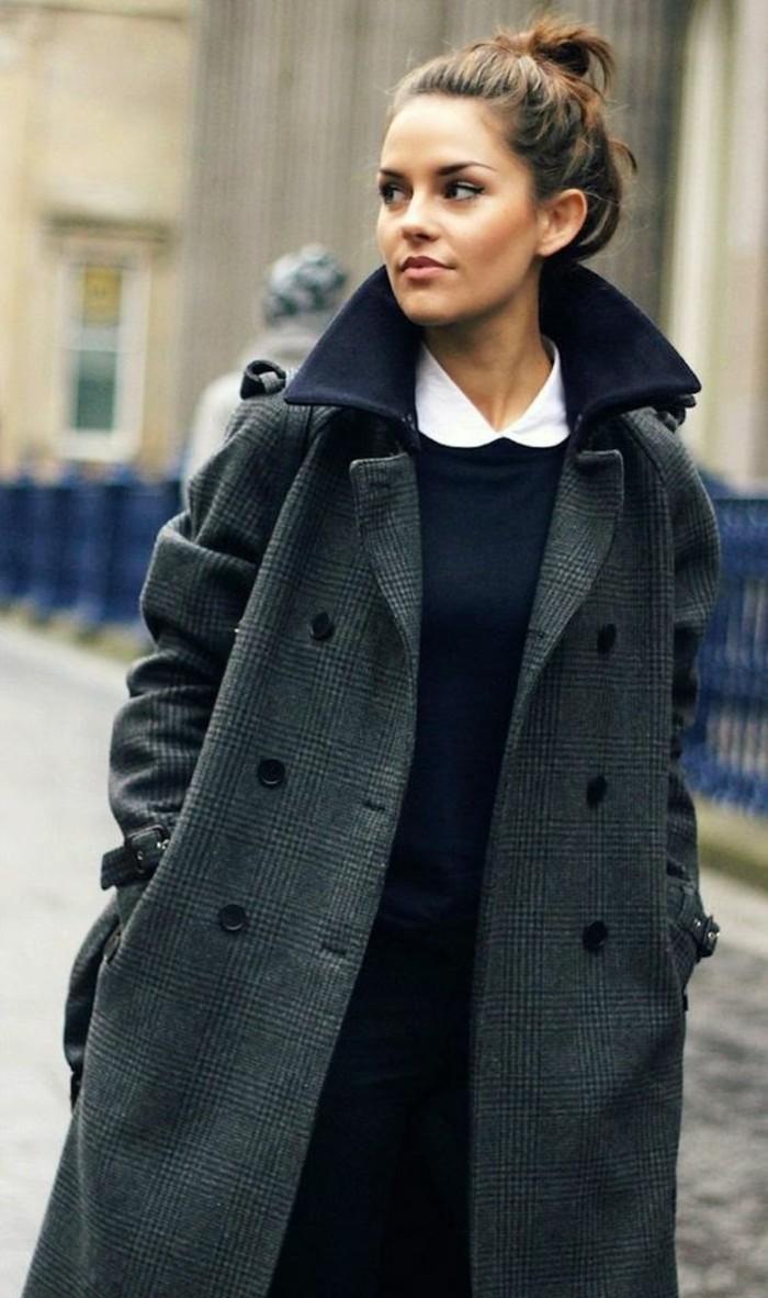 long-manteau-en-laine-tendance-oversize-chemise-blanche-femme-col-claudine