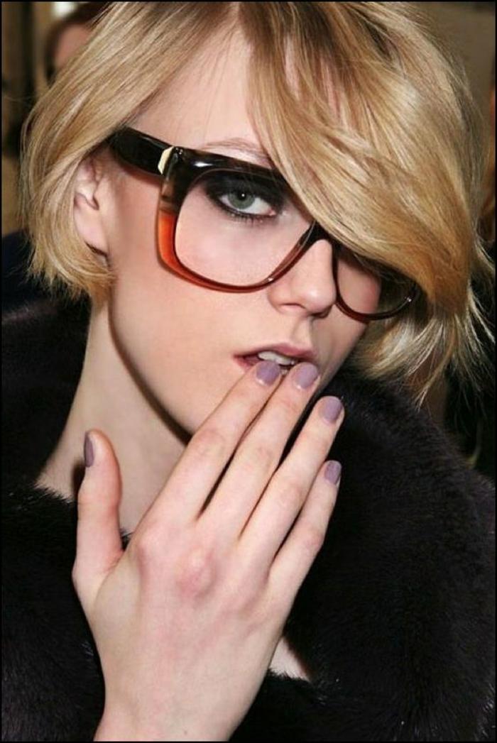 Lunettes de vue femme classes et 80 propositions de looks!   Mode ... 8ff6d9b95089