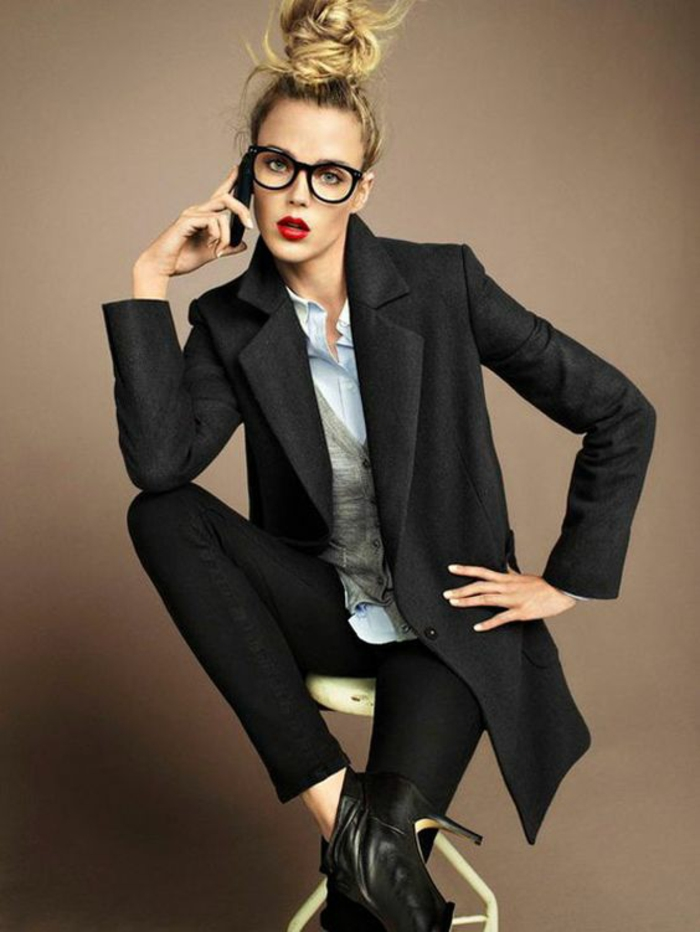 ffe1afb59bc7b ▷ 1001+ Idées pour des lunettes de vue femme + les looks appropriés