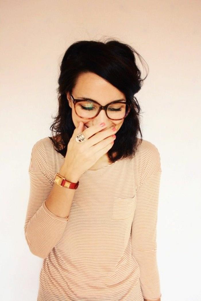 74b12dd306 ▷ 1001+ Idées pour des lunettes de vue femme + les looks appropriés