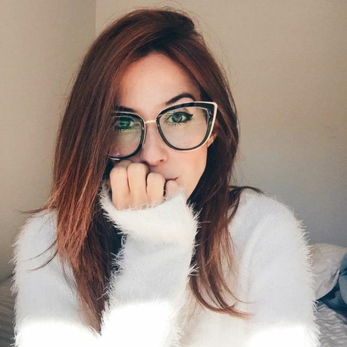 1001 id es pour des lunettes de vue femme les looks appropri s - Visage oblong homme ...