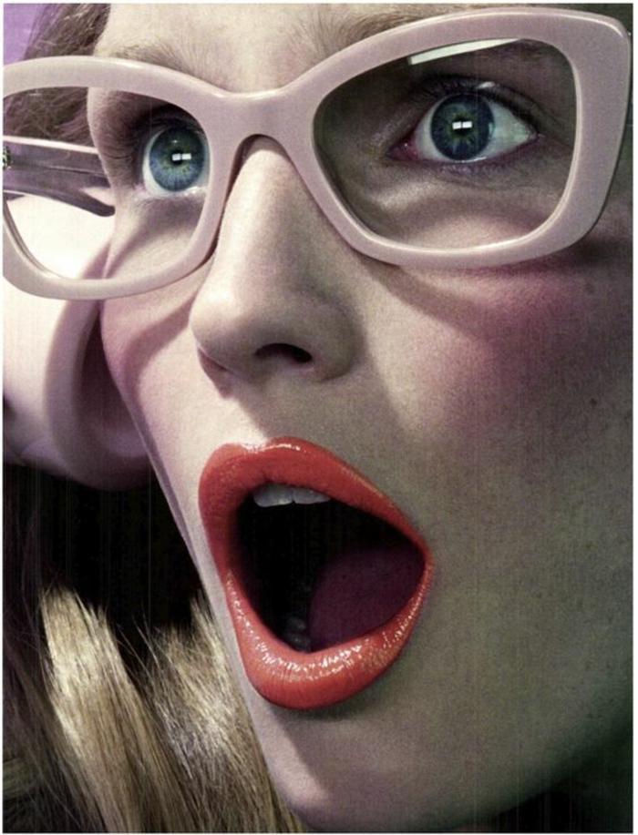 lunettes-vue-femme-monture-rose-épaisse