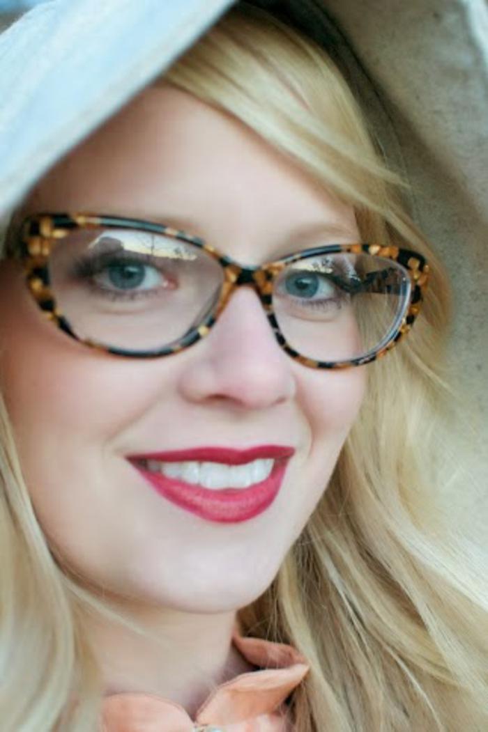 Fabuleux ▷ 1001+ Idées pour des lunettes de vue femme + les looks appropriés AA03