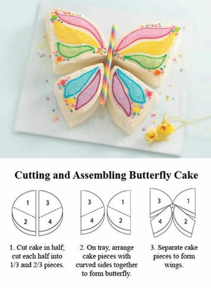 magnifique-gateau-anniversaire-gateaux-original-facile-la-forme-de-papillon