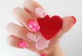 Réalisez une manucure originale pour la Saint-Valentin – 70 nail arts uniques