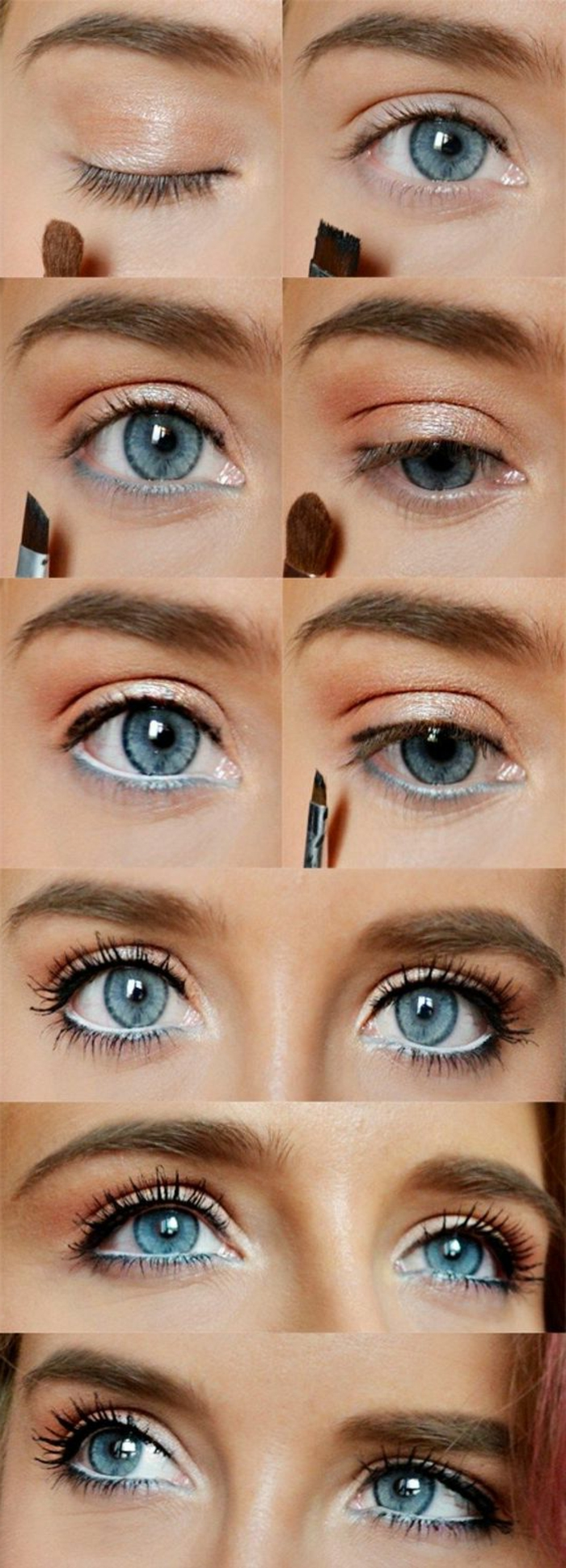 maquillage-des-yeux-doré-maquillage-pour-tous-les-jours