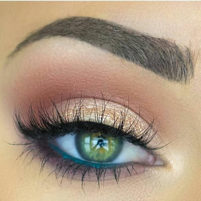 maquillage-des-yeux-magnifique-maquiller-les-yeux-verts