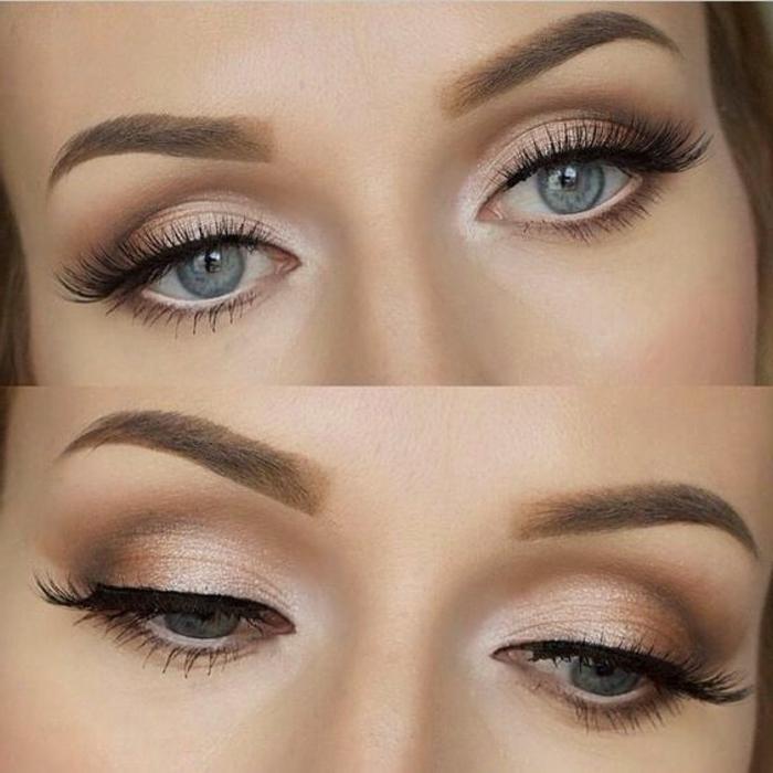 maquillage-des-yeux-simple-idées-maquillage-de-tous-les-jours