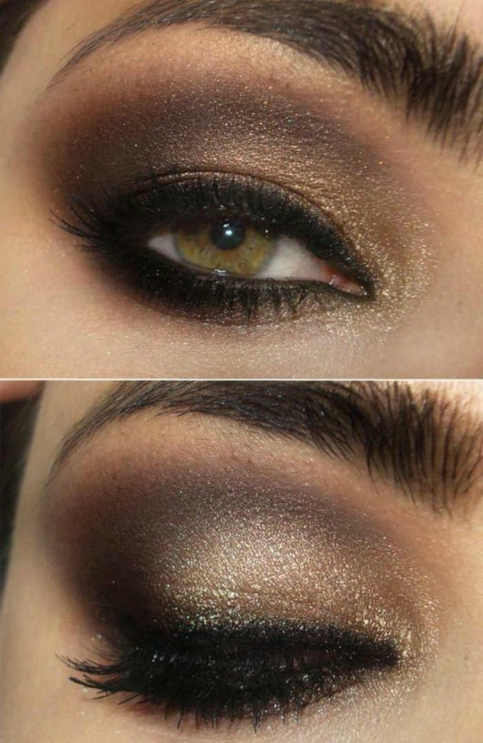 maquillage-smokey-eye-yeux-verts-comment-se-maquiller