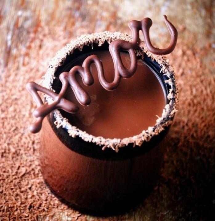 1001 id es comment faire des d cors en chocolat facilement - Faire l amour avec une coupe menstruelle ...