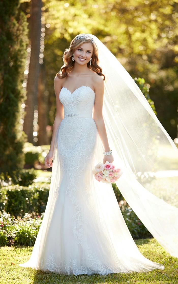 mariage-robe-de-mariée-longue-blanche-idee-comment-s-habiller
