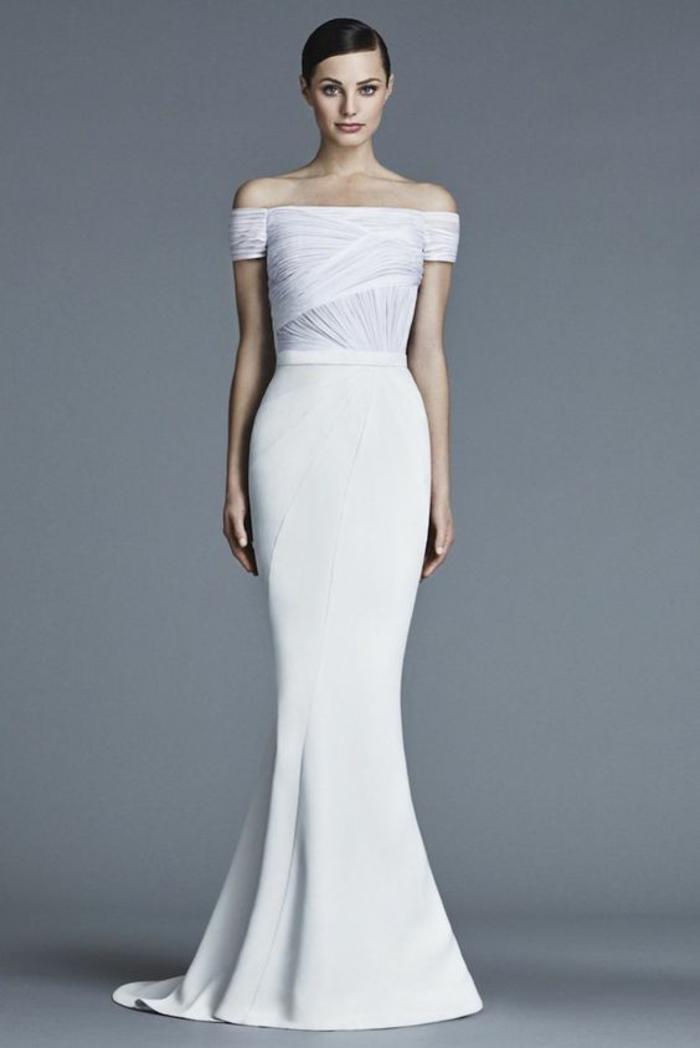 mariage-robe-de-mariée-longue-blanche-longue-robe-jolie-silhouette