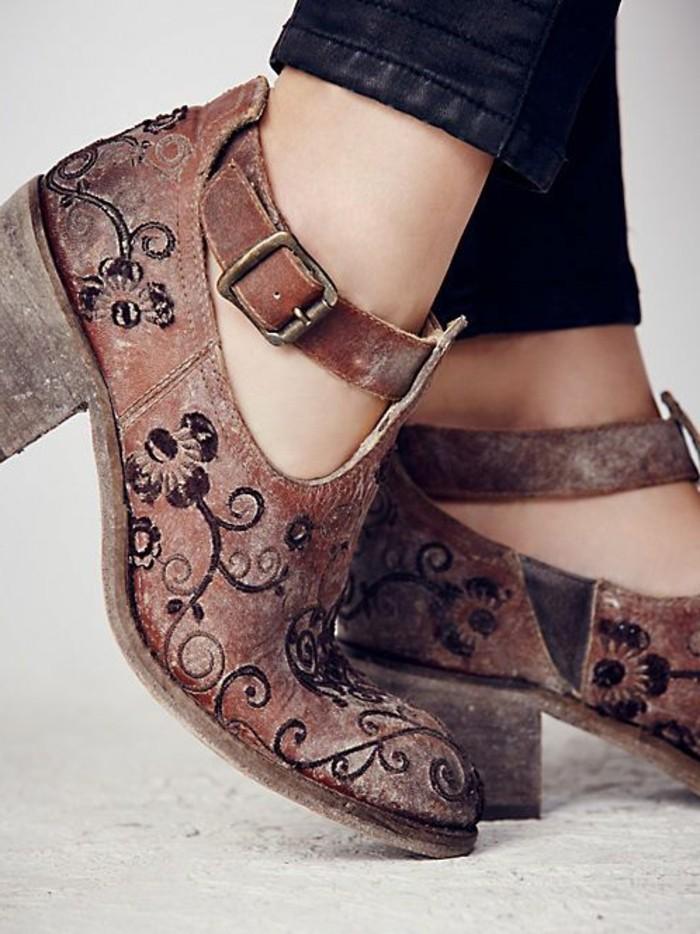 chaussure boheme chic femme cool quelles chaussures porter avec une robe ou une jupe longue. Black Bedroom Furniture Sets. Home Design Ideas