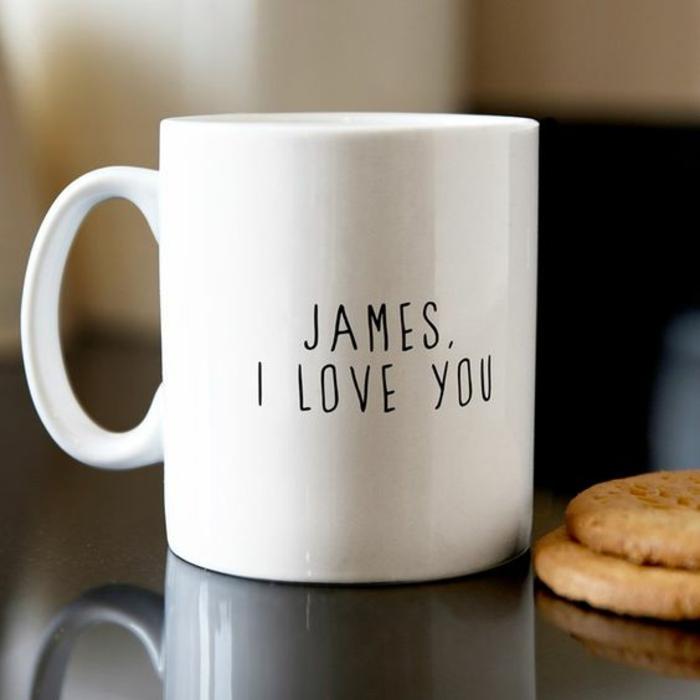 mug personnalisé, un aveu d'amour