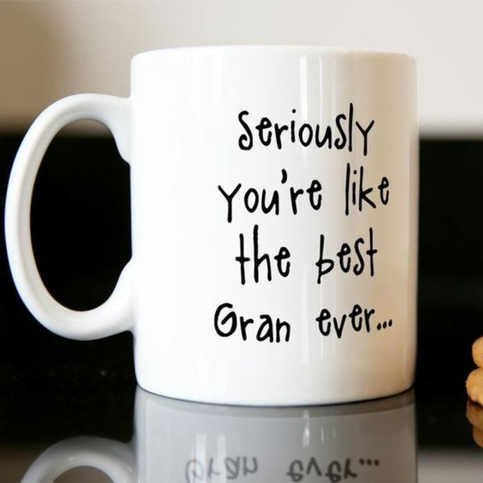 mug personnalisé à offrir à son grand mère ou grand père