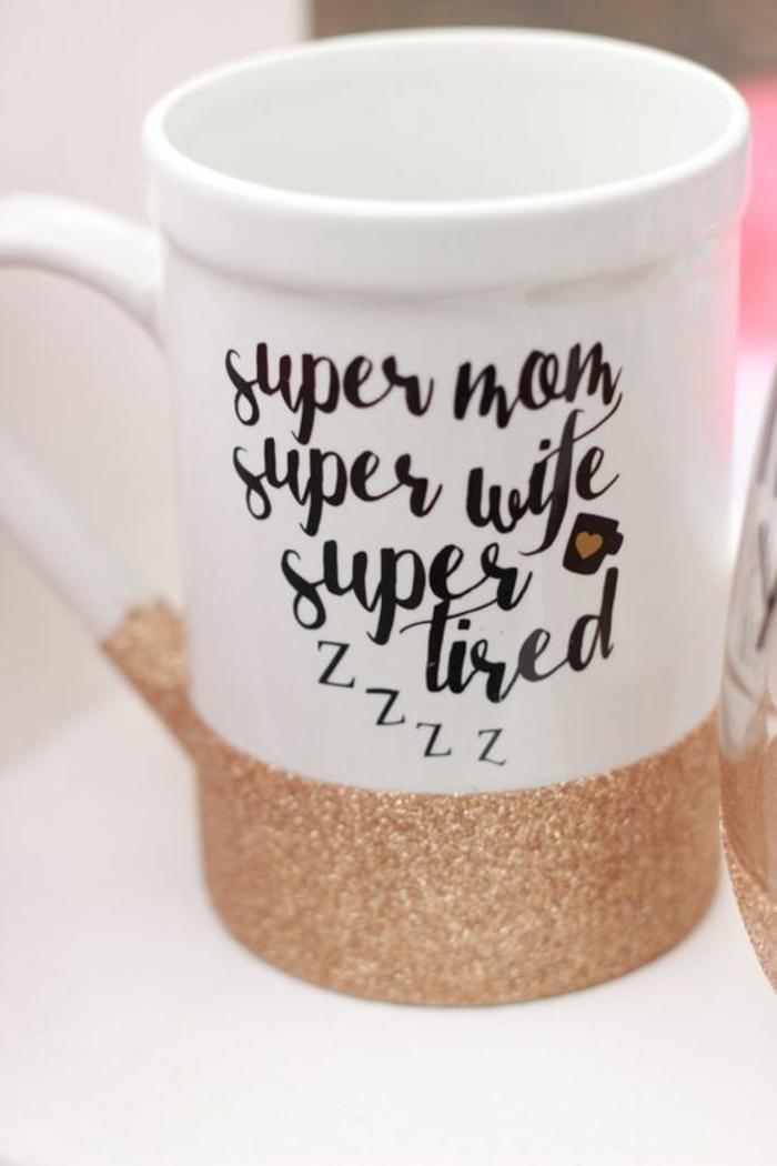 mug personnalisable, tasse à café pour la femme qui respecte son temps