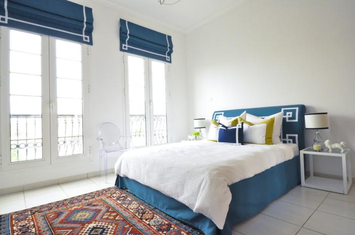 mur-bleu-canard-couleur-bleu-canard-paon-bleu-tapis-moderne