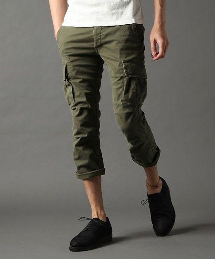 1001 id es plein les poches pour adopter le pantalon cargo homme. Black Bedroom Furniture Sets. Home Design Ideas