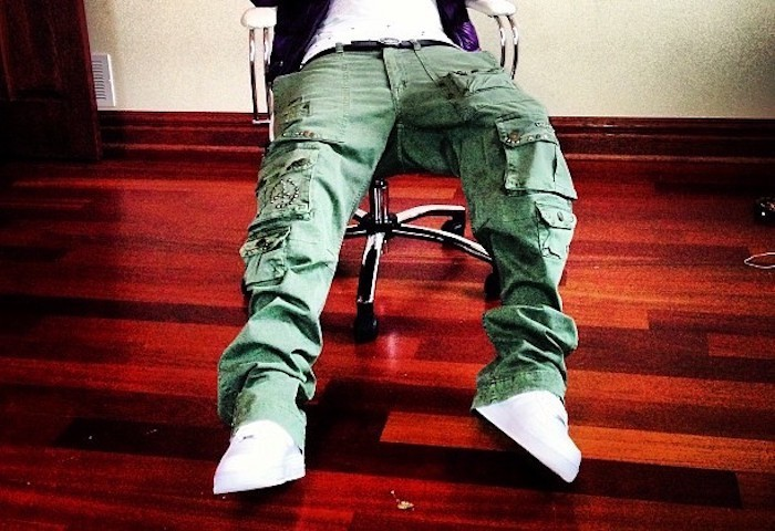 pantalon camouflage treillis slim homme large kaki hip hop