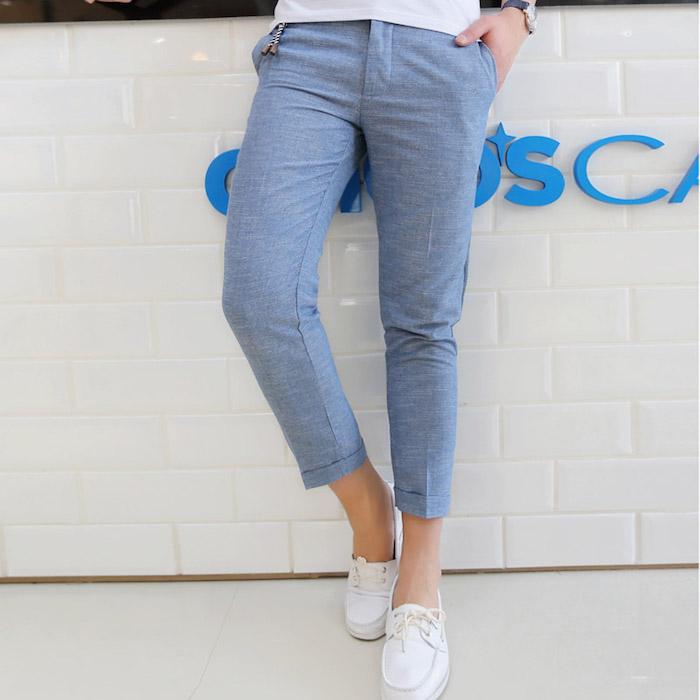 Exceptionnel ▷ 1001+ idées et inspirations pour porter le pantalon lin homme  AU86 899ca1ef1bc