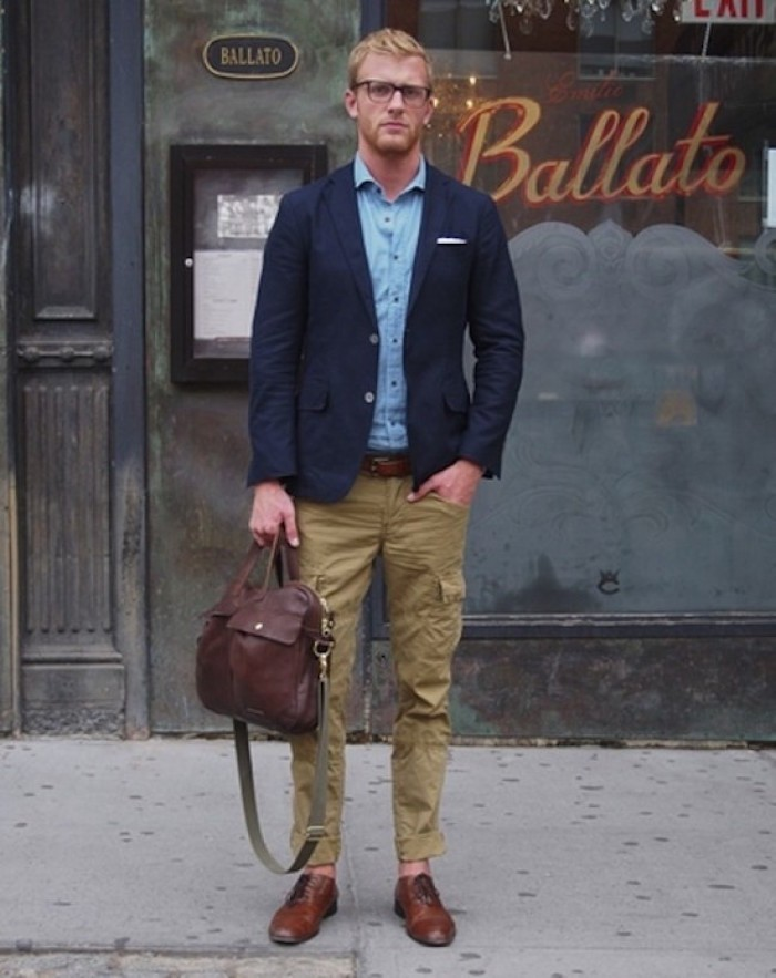 pantalon multipoches homme cargo battle beige kaki clair coupe slim