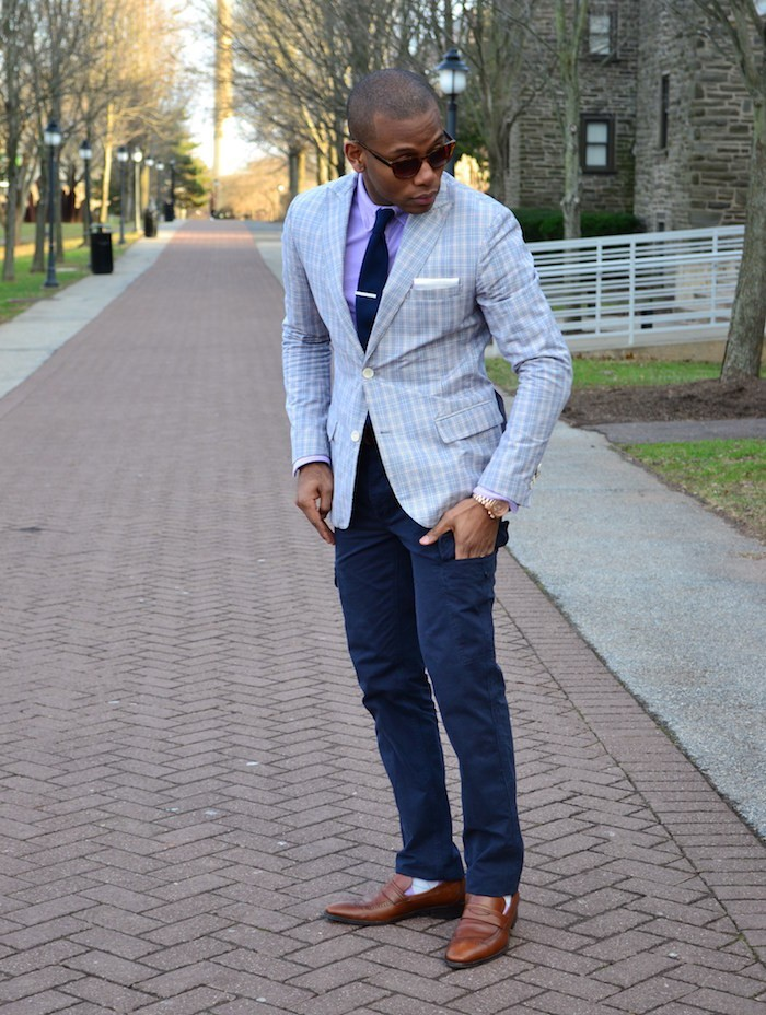 pantalon poche cargo bleu marine multipoches style