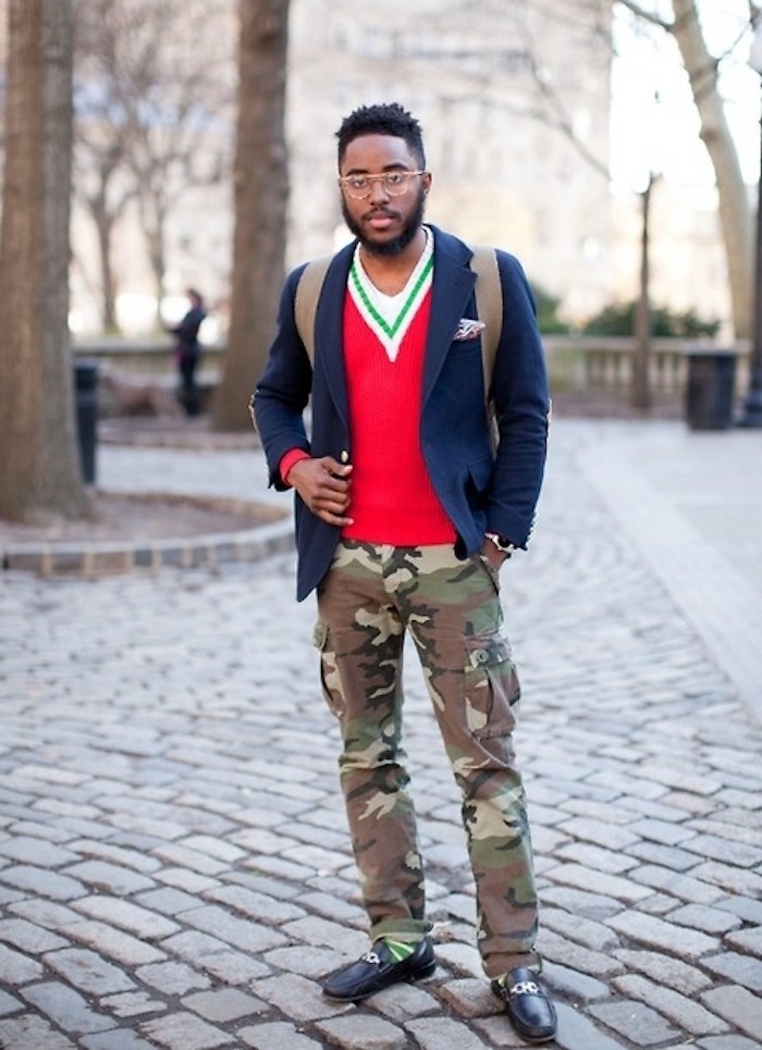 pantalon treillis camouflage homme slim style hipster comment porter