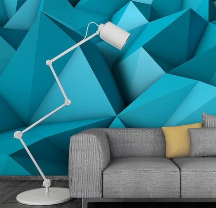 papier-pein-géométrique-tapisserie-trompe-l'oeil-