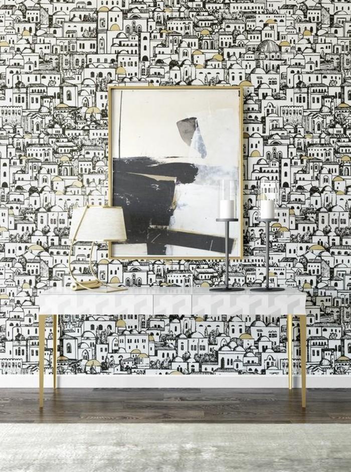 papier-peint-3d-effet-illusion-optique-tapisserie-murale-originale-