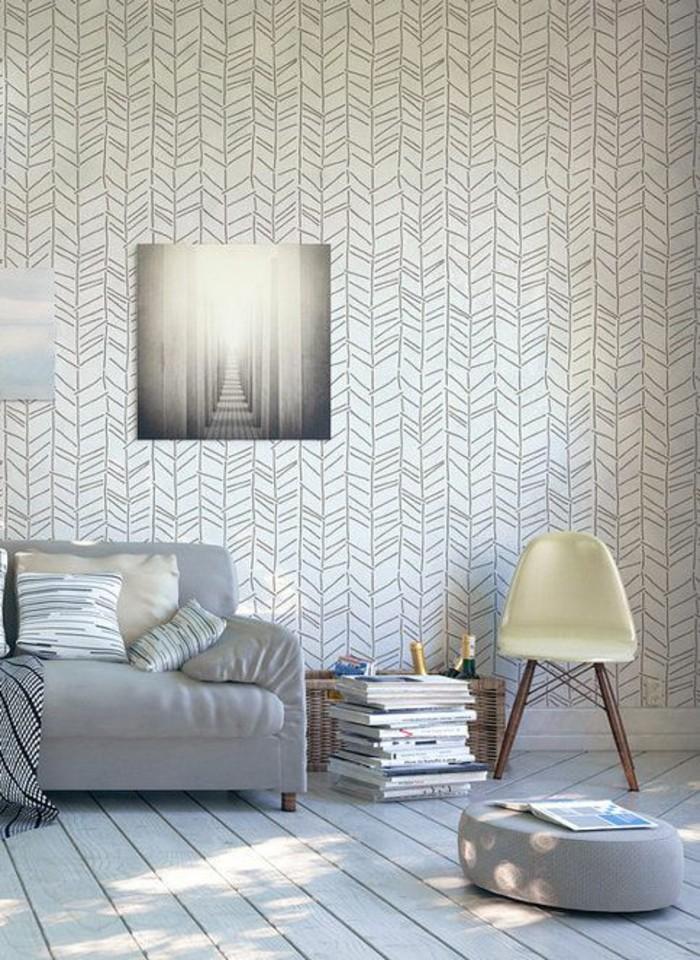 papier-peint-3d-salon-intérieur-clair-papier-peint-original