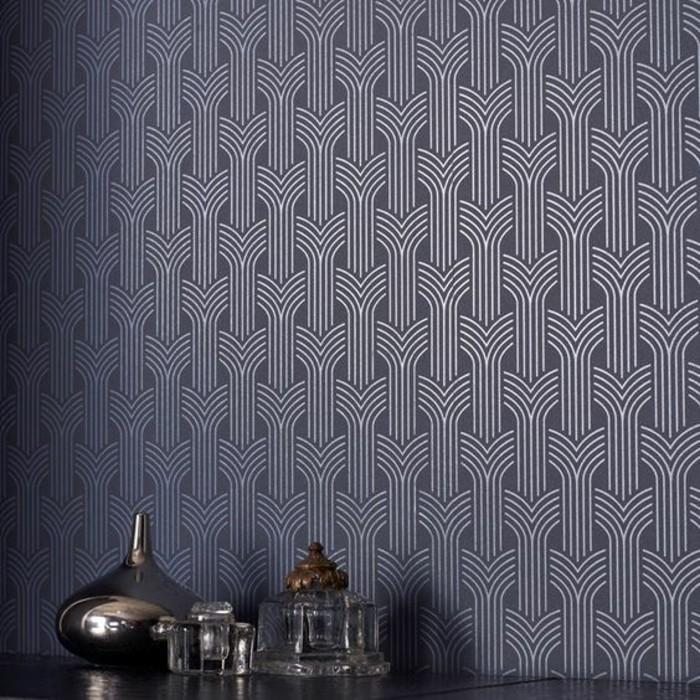 papier-peint-géométrique-de-luxe-effet-optique-