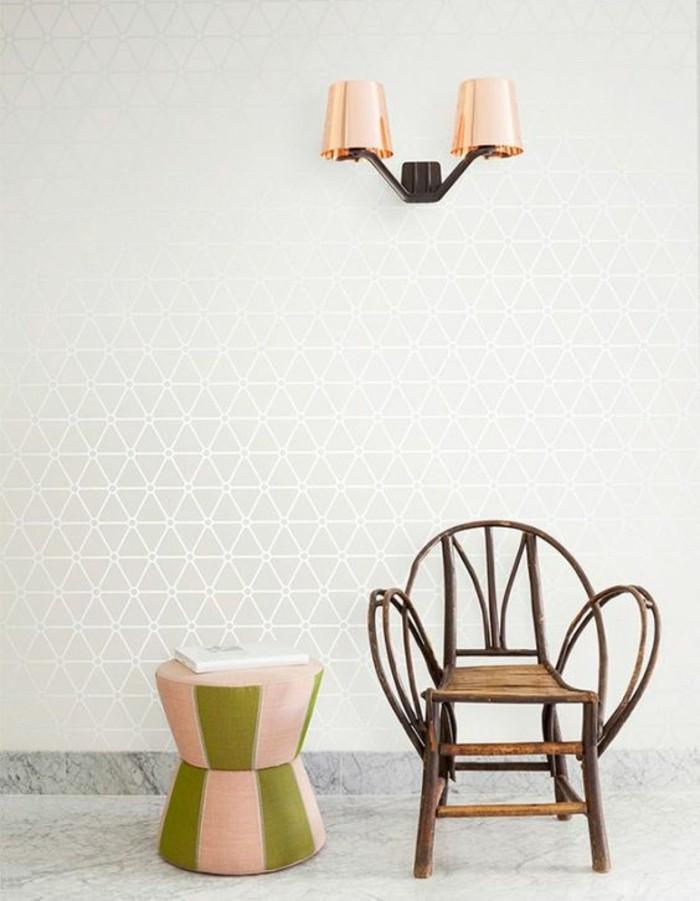 papier-peint-géométrique-effet-3d-motif-géométrique-